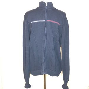 Men's Tommy Hilfiger full zip sweater(P8)